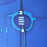 ohne Titel, Mischtechnik auf Leinwand, 70x50, 2015