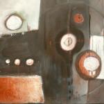 Auftragswerk, Mischtechik auf Leinwadn, 50x40, 2012