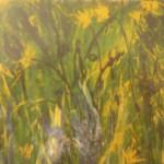 Blumenwiese, Öl auf Leinwand, ca.99x70, 1997