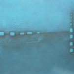 Ohne Titel, Mischtechnik auf Leinwand, 70x50, 2014