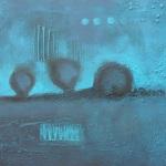 Ohne Titel, Mischtechnik auf Leinwand, 50x40, 2014