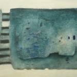 Ohne Titel, Mischtechnik auf Leinwand, 60x40, 2014
