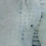 ohne Titel, Mischtechnik auf Leinwand, 70x50, 2016