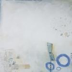 ohne Titel, Mischtechnik auf Leinwand, 40x40, 2020