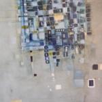 BlauPause, Mischtechnik auf Papier, ca. A3, 2002