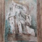 ohne Titel, Mischtechnik auf Pergamentpapier, ca. 30x40, 1997
