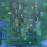 ohne Titel, Mischtechnik auf Leinwand, 80x60, 2003
