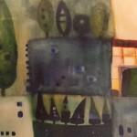 Hameln, Mischtechnik auf Hartfaser, ca. 40x30, 2004