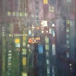 ohne Titel, Öl auf Hartfaser, ca. 50x80, 2002?