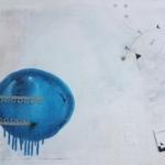 ohne Titel, Mischtechnik auf Leinwand, 50x40, 2019