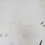 ohne Titel, Mischtechnik auf Leinwand, 40x60, 2020