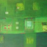 Greenplace, Mischtechnik auf Papier, 33x41, 2002