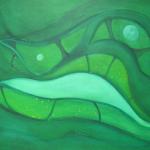 Metamorphose, Mischtechnik auf Leinwand, 70x50, 2009