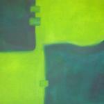 Die Verschiebung des blauen Kontinents, Öl auf Leinwad, 80x60