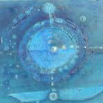 ohne Titel, Mischtechnik auf Leinwand, 50x40, 2010