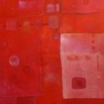 ohne Titel, Mischtechnik auf Leinwand, 50x70, 2007