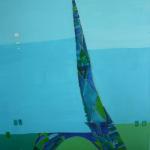 Paris, Mischtechnik auf Leinwand, 60x80, 2004