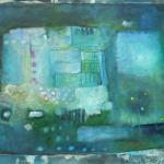 ohne Titel, Mischtechnik auf Leinwand, 80x60, 2011