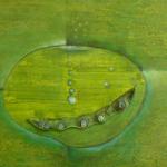 ohne Titel, Mischtechnik auf Leinwand, 50x40, 2011