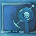 ohne Titel, Mischtechnik auf Leinwand, ca.50x40, 2012