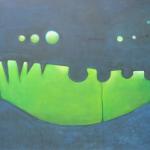 ohne Titel Mischtechnik auf Leinwand,60x40, 2012