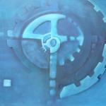 ohne Titel, Mischtechnik auf Leinwand, 70x50, 2012