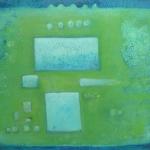 ohne Titel, Mischtechnik auf Leinwand, 40x50, 2012