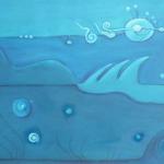 Ohne Titel, Mischtechnik auf Leinwand, 50x40, 2012