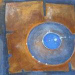 Ohne Titel, Mischtechnik auf Leinwand,50x50, 2013